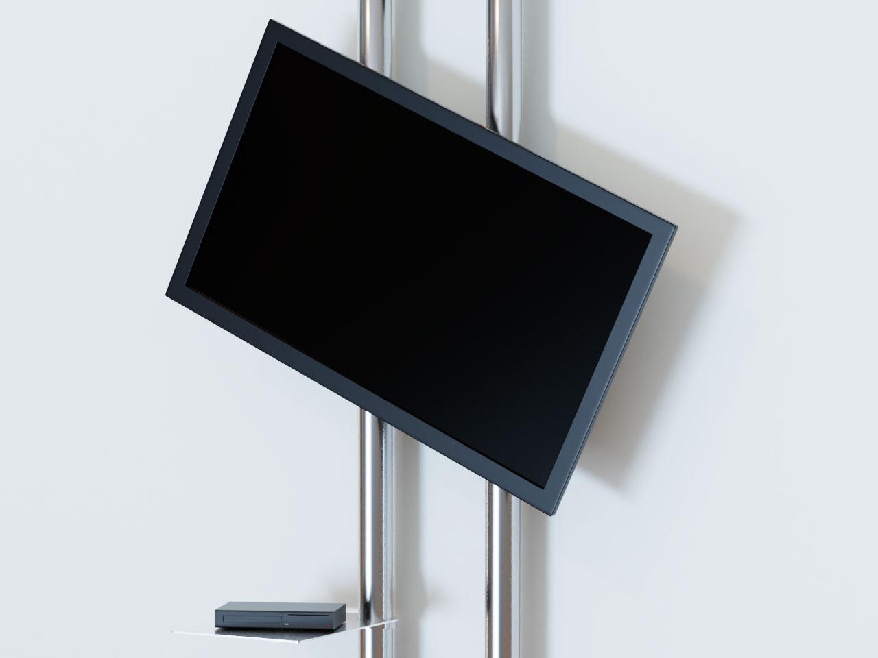 design tv wandhalter mit ablage cmb 277 g nstig kaufen cmb systeme. Black Bedroom Furniture Sets. Home Design Ideas