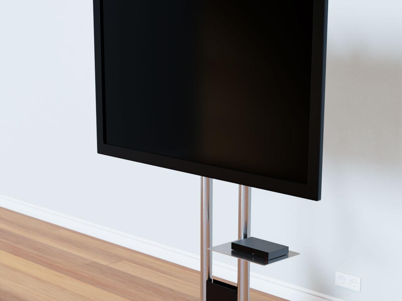 universeller tv st nder mit rollen 42 85 zoll cmb 240. Black Bedroom Furniture Sets. Home Design Ideas