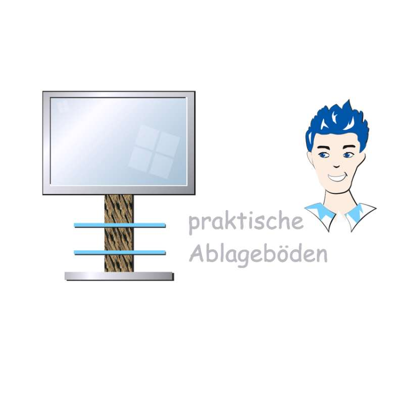 praktische Ablageböden