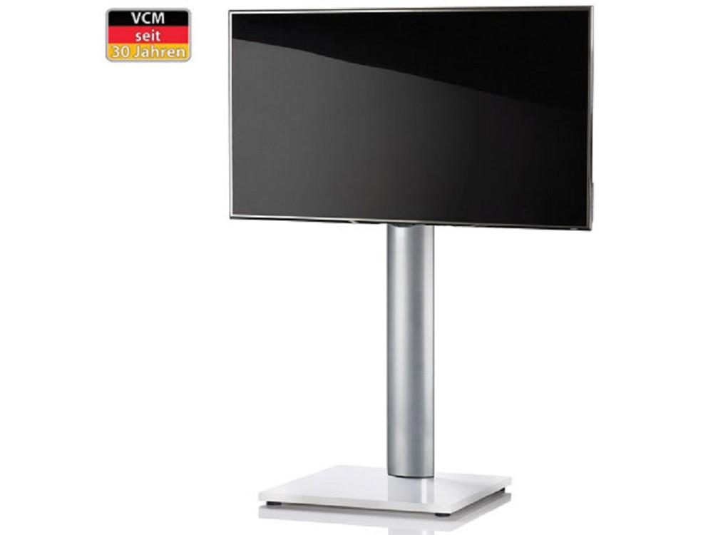 vcm tv standfu onu wei lack ohne ablageboden g nstig kaufen cmb systeme. Black Bedroom Furniture Sets. Home Design Ideas