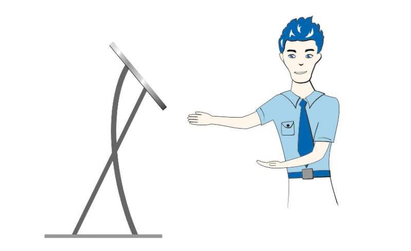 Messe Tablet-PC Ständer für eine ansprechende Präsentation