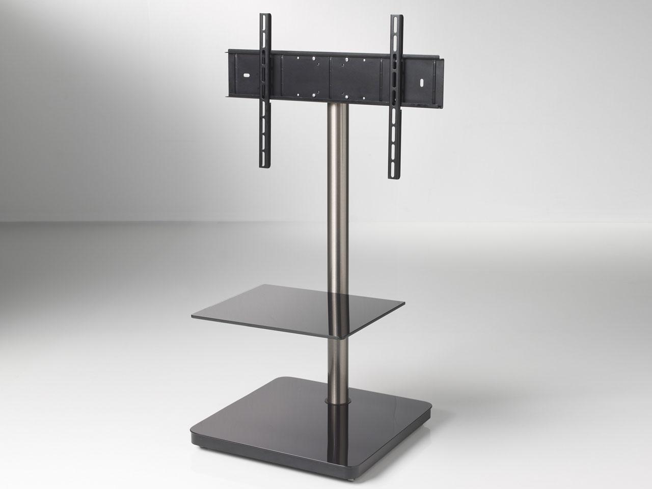 schwarzer schwenkbarer design tv standfu cmb 204 23 65. Black Bedroom Furniture Sets. Home Design Ideas