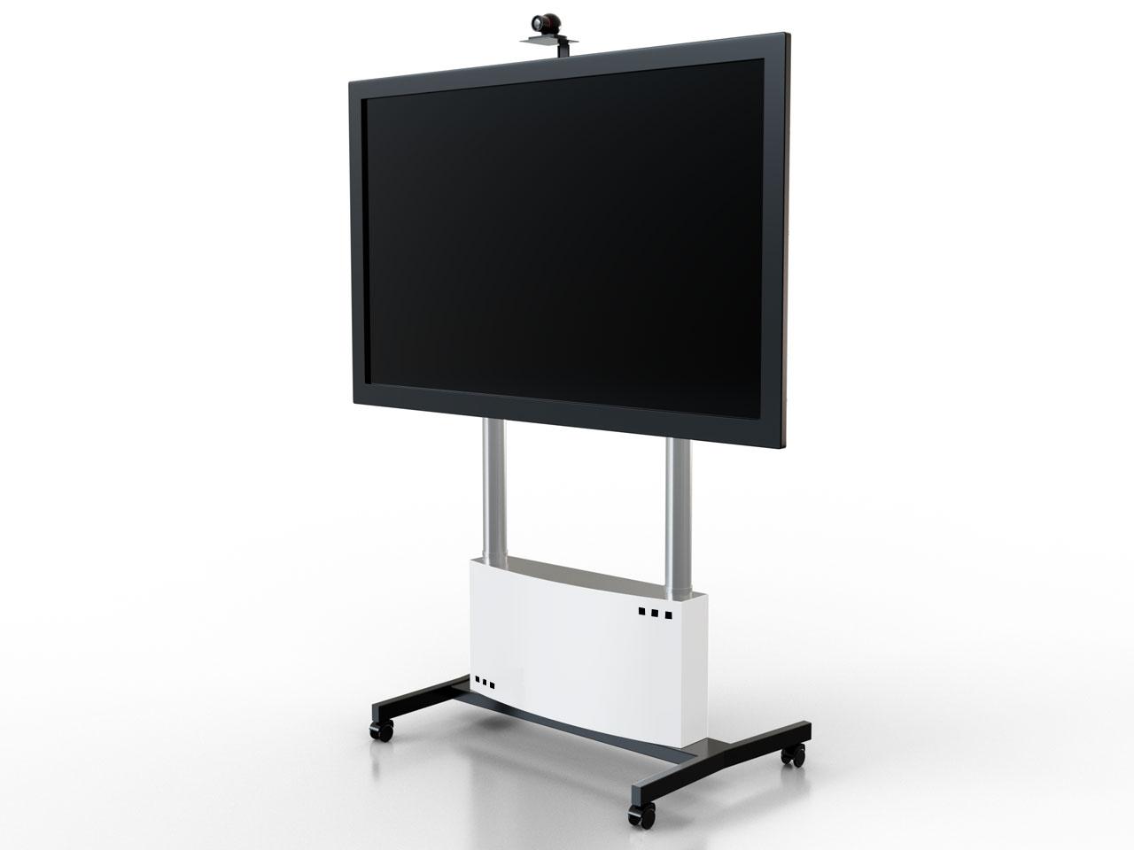 Mobiler Tv Stander Mit Rollen Und Unterschrank Cmb Stand Videon