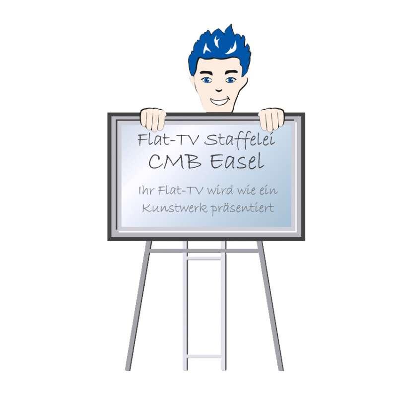 Ihr Flat-TV wird wie ein Kunstwerk präsentiert