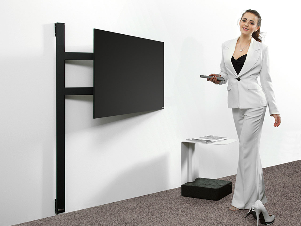 wissmann tv halter solution art121 g nstig kaufen cmb. Black Bedroom Furniture Sets. Home Design Ideas