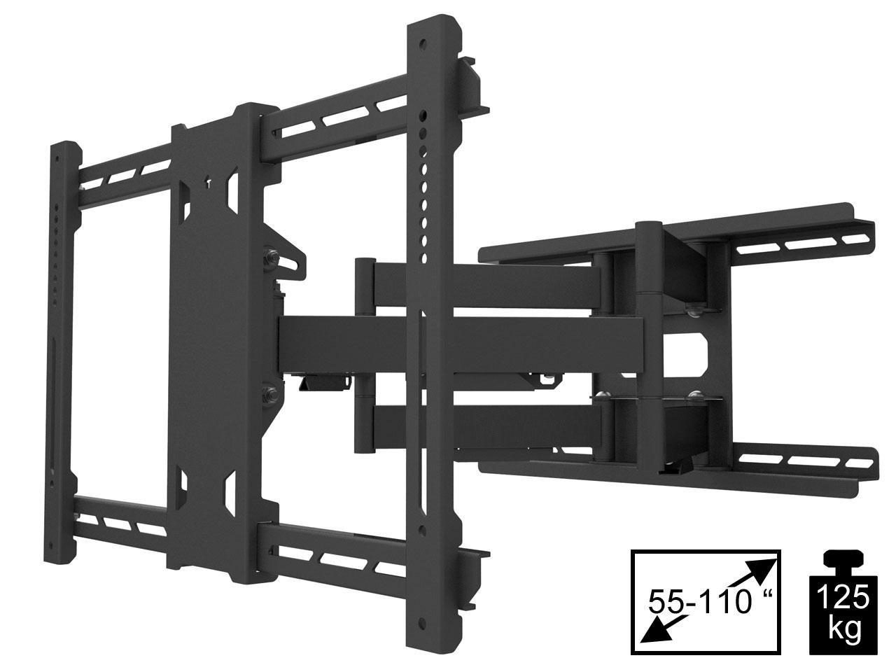 Vorschau: MB Flexarm PRO SD Full Motion TV Wandhalter 55 110 Zoll ...
