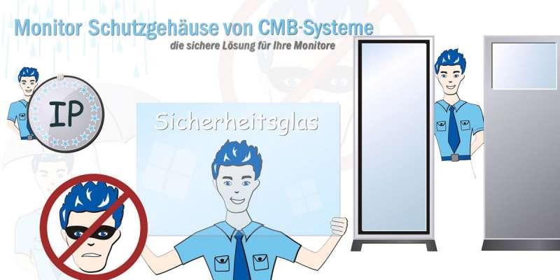 Informationen zum Thema Monitor Schutzgehäuse im Überblick