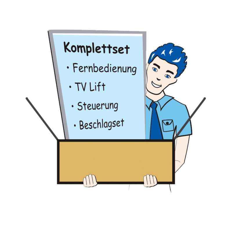 TV Lifte als Komplettsystem