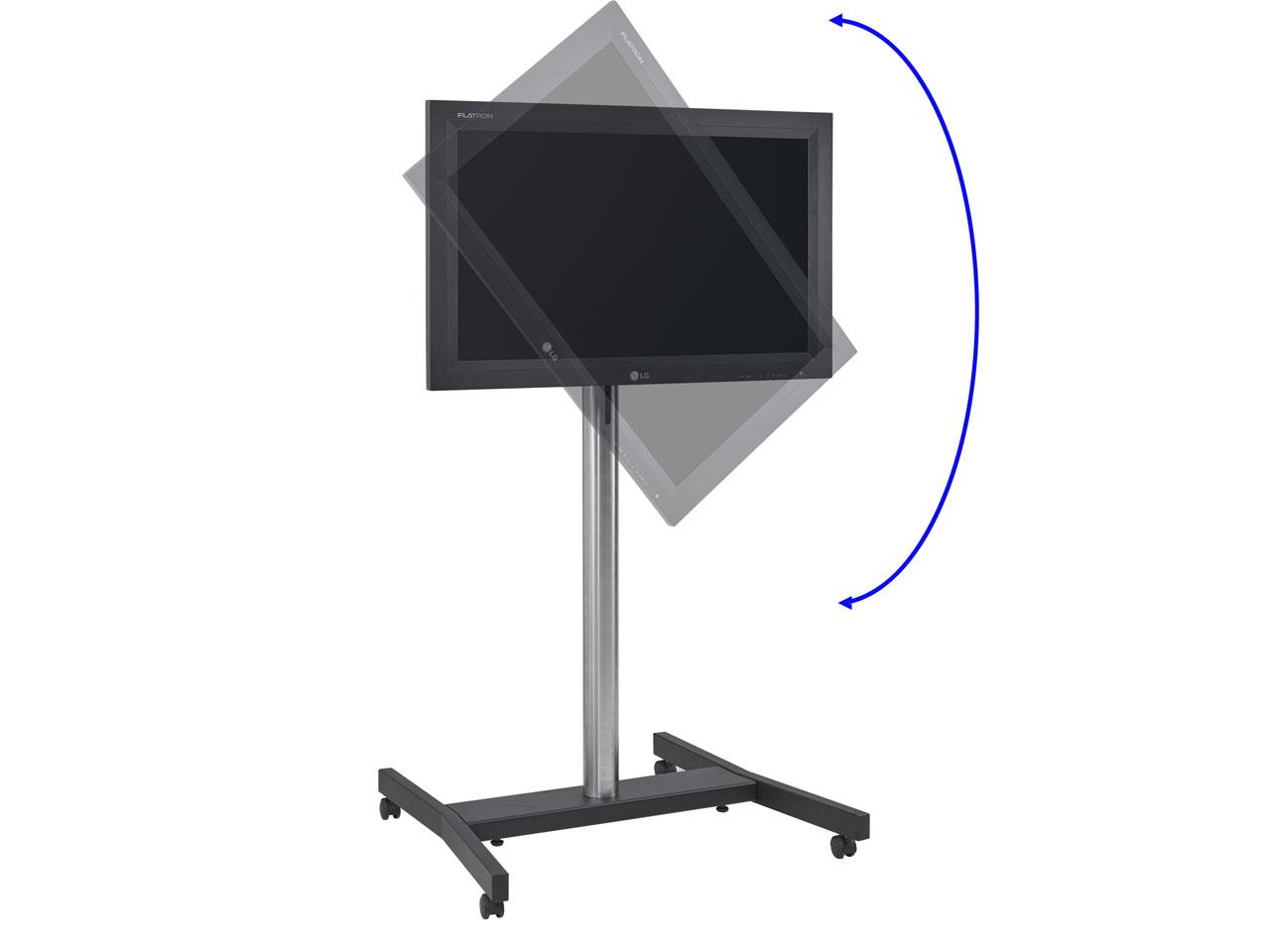 cmb tv trolley h henverstellbar mit rollen 32 70 zoll g nstig kaufen cmb systeme. Black Bedroom Furniture Sets. Home Design Ideas