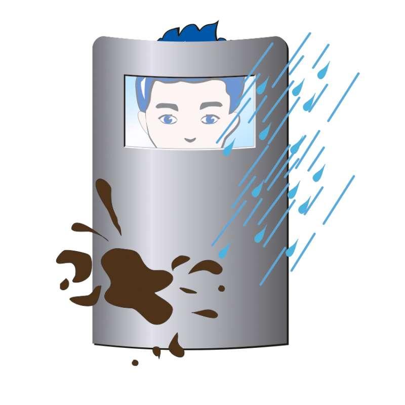 Schutz vor Hitze, Feuchtigkeit und Vandalismus
