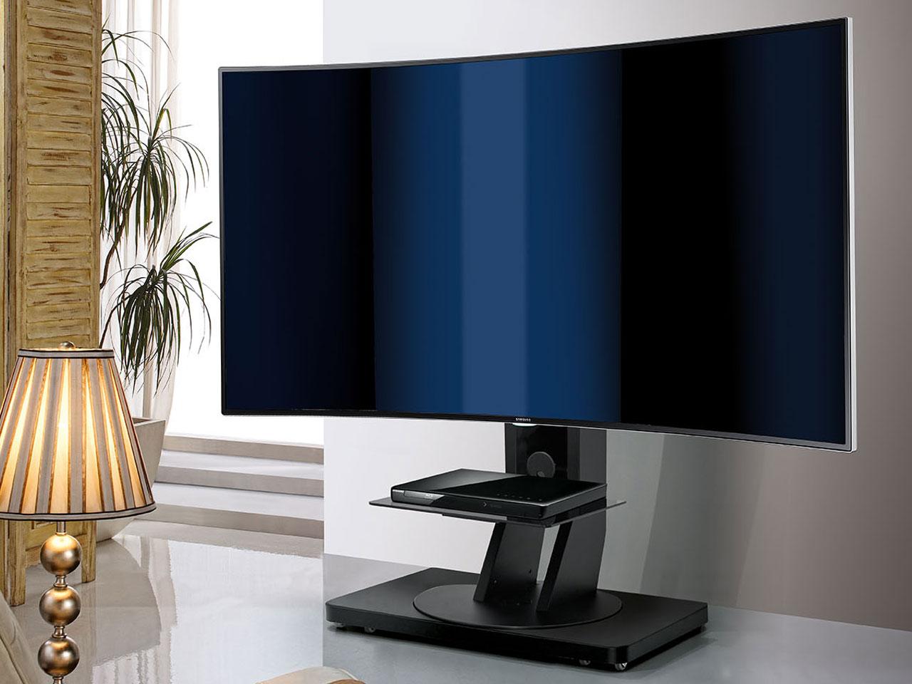 schwenkbarer fernsehst nder cmb 110 mit rollen bis 88 zoll. Black Bedroom Furniture Sets. Home Design Ideas