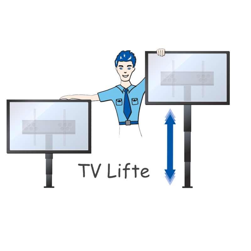 Typische Merkmale der TV Lifte