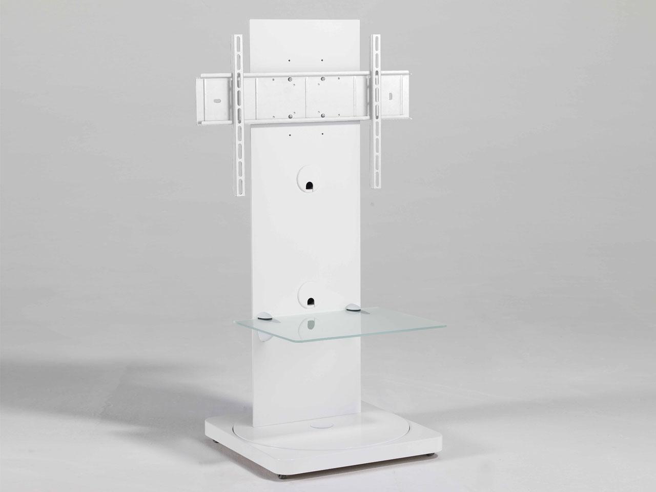 Weißer Drehbarer Design Tv Ständer Cmb 101 23 65 Zoll Günstig