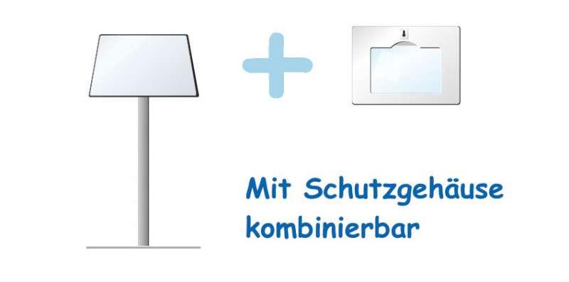 Tischständer als kompakte Version der Tablet-PC Ständer