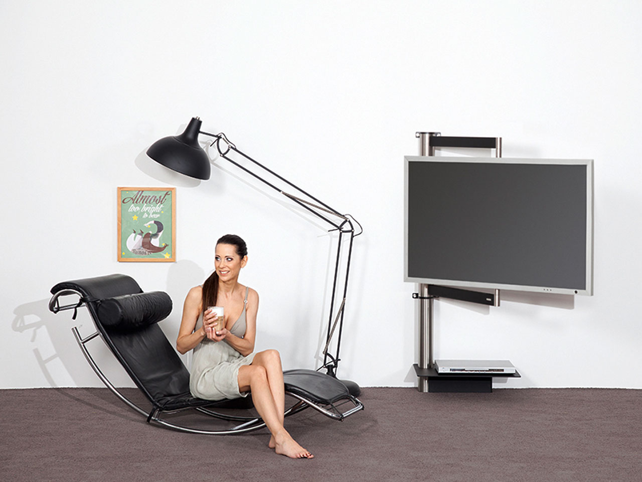 wissmann tv halter solution art112 g nstig kaufen cmb systeme. Black Bedroom Furniture Sets. Home Design Ideas