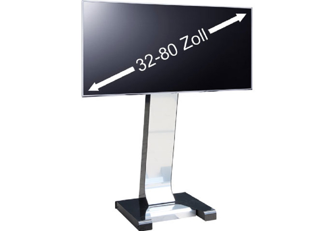 big tower ii display tv st nder mit rollen 32 80 zoll g nstig kaufen cmb systeme. Black Bedroom Furniture Sets. Home Design Ideas