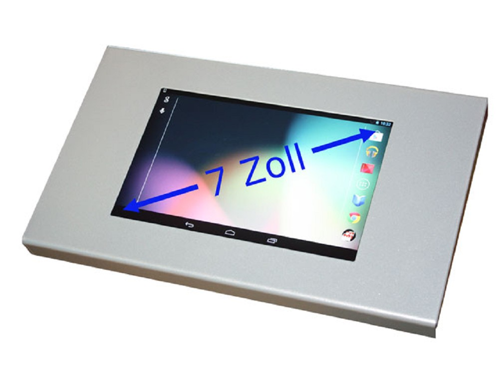 universelles 7 zoll tablet pc diebstahl schutzgeh use. Black Bedroom Furniture Sets. Home Design Ideas