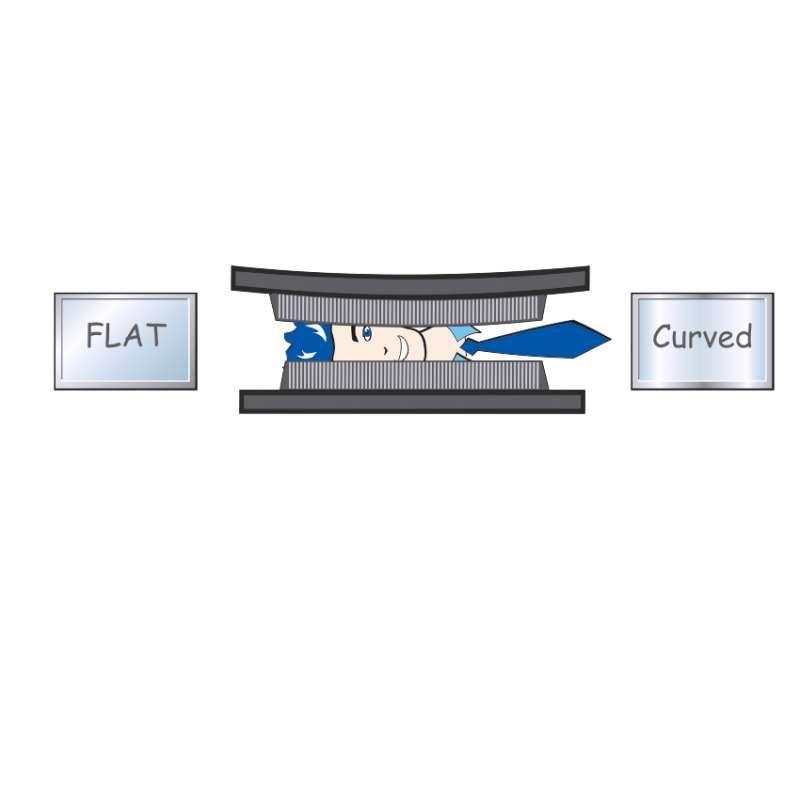 VESA-Standard bei Curved TVs