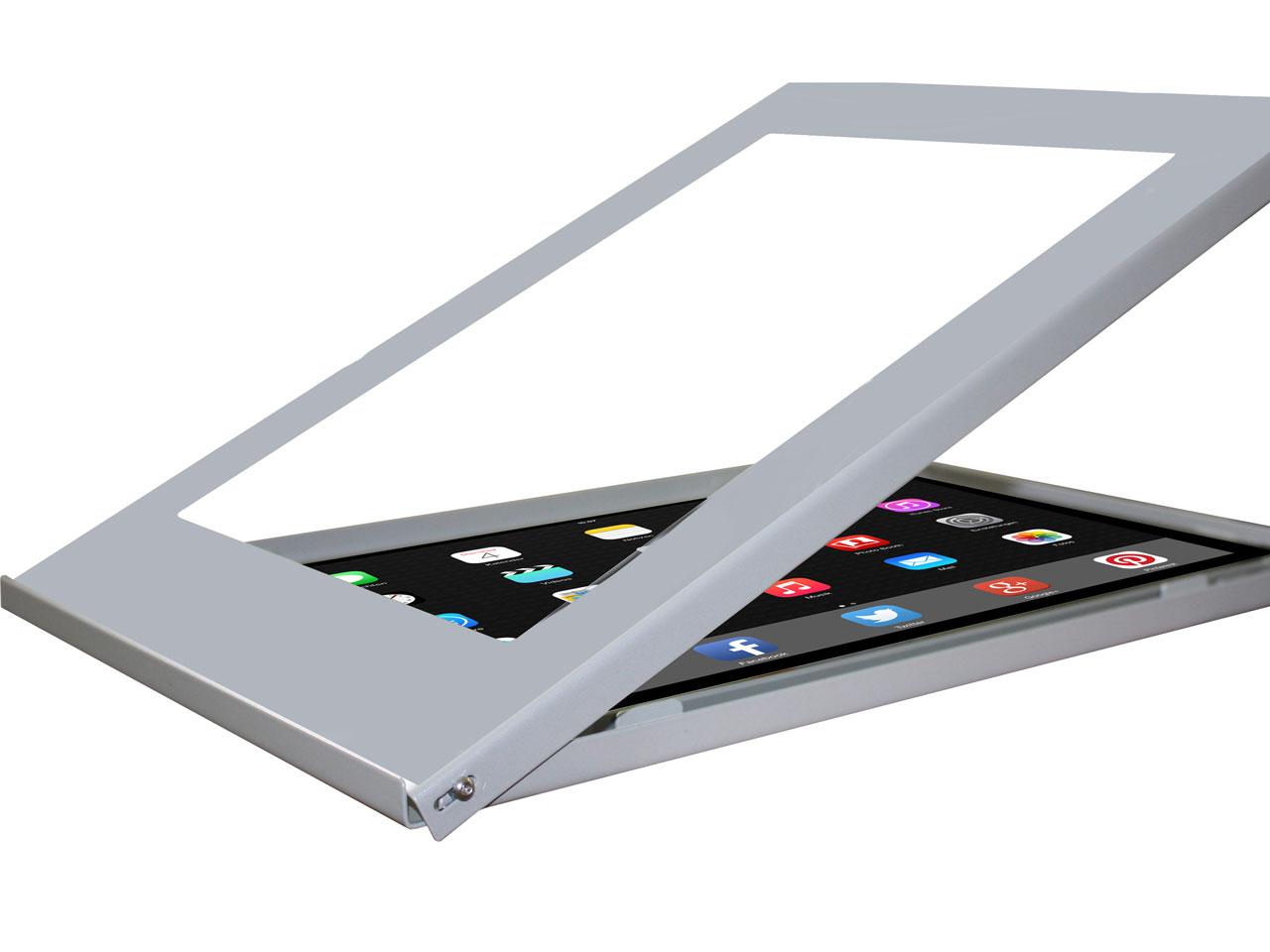 apple ipad pro 12 9 zoll diebstahl schutzgeh use mit schloss g nstig kaufen cmb systeme. Black Bedroom Furniture Sets. Home Design Ideas